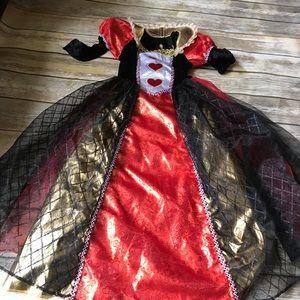 Girls Queen of Hearts Dress